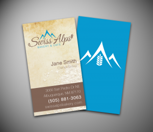 SwissAlpsBakery-BusinessCards